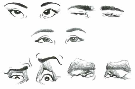 learn how to draw eyebrows