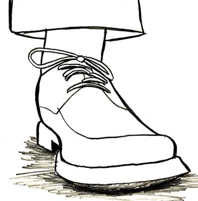 Shoe Sketch Stock Images - Image: 35015534