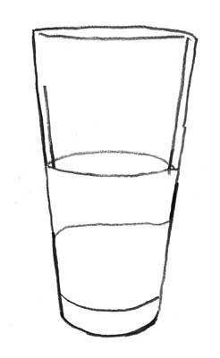 How to do shading for a glass object